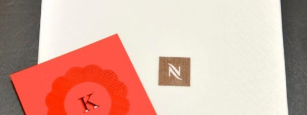 Nespresso & Lekouglof……Absolutly nothing else !